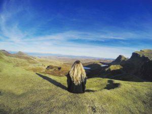 Isle of Skye beautiful green views