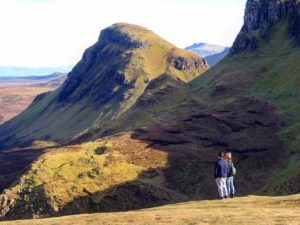 Isle of Skye mountain top views