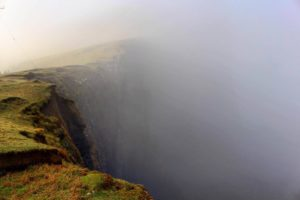 Niest Point Isle of Skye foggy