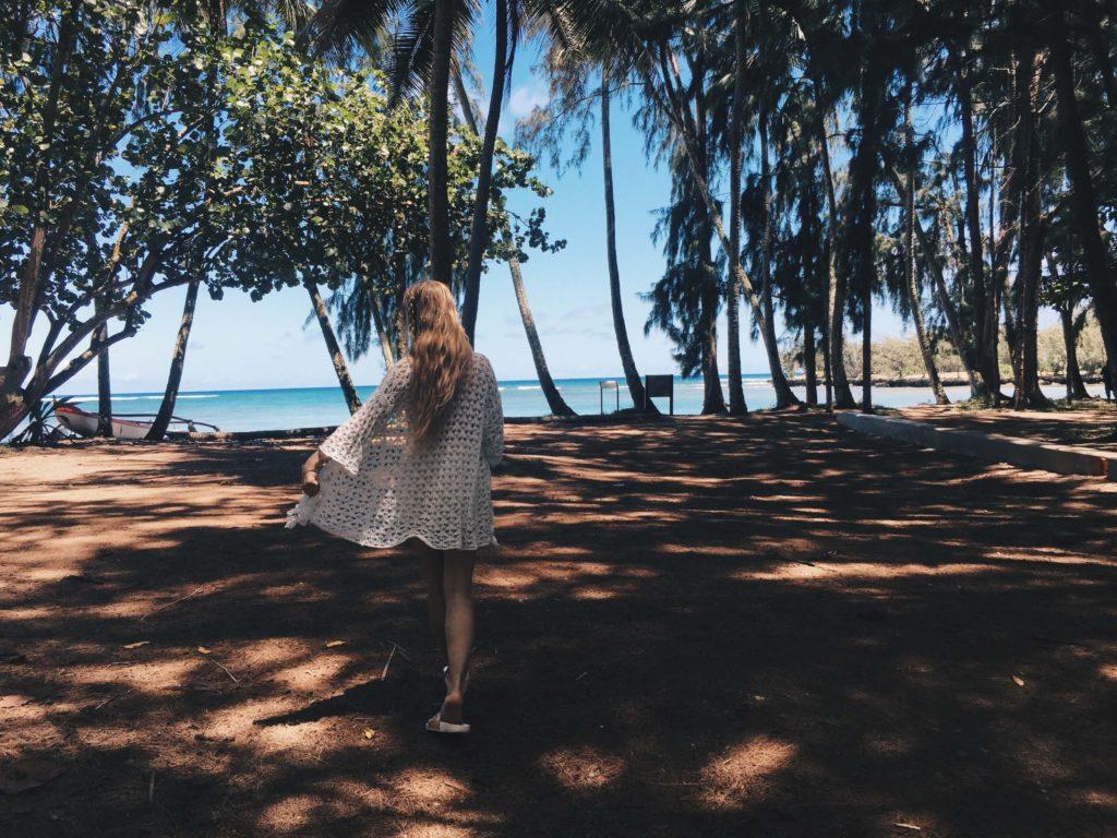 Hawaii Oahu Lost beach