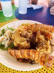 Vamos Bitchachos lobster choke Johnny Depp Lobster