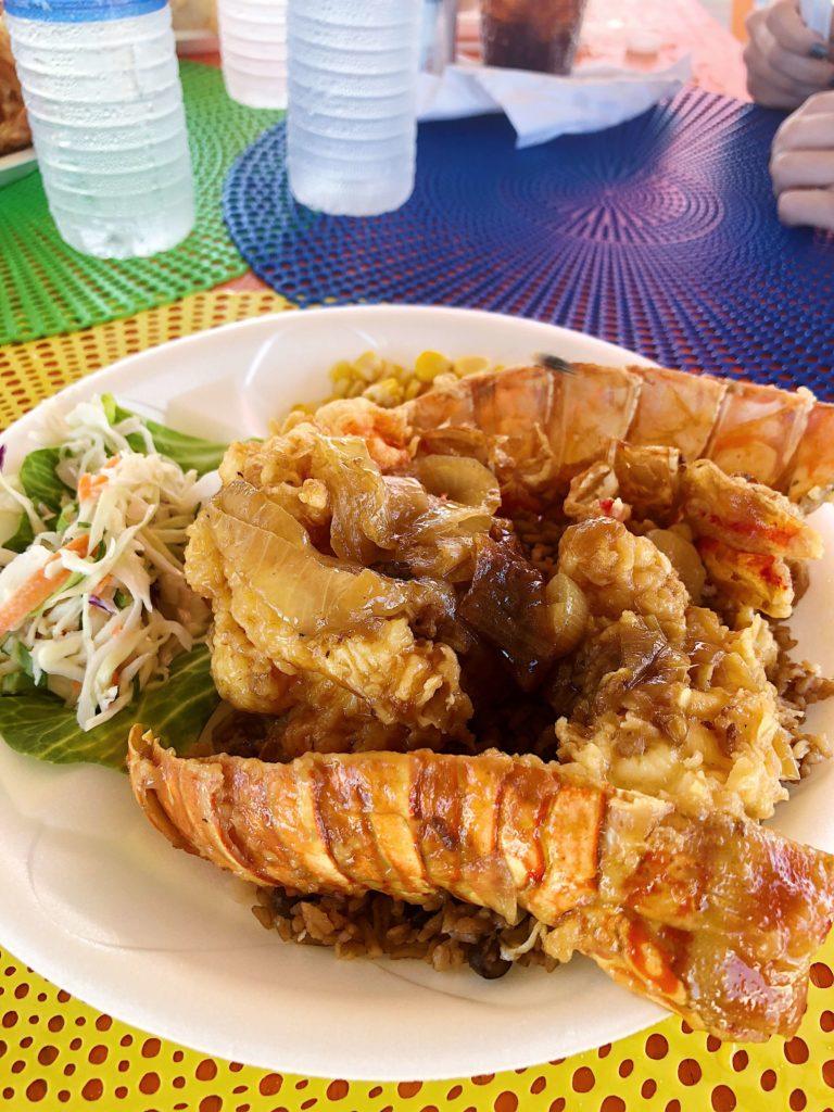 Santanas Lobster Bahamas Little Exuma