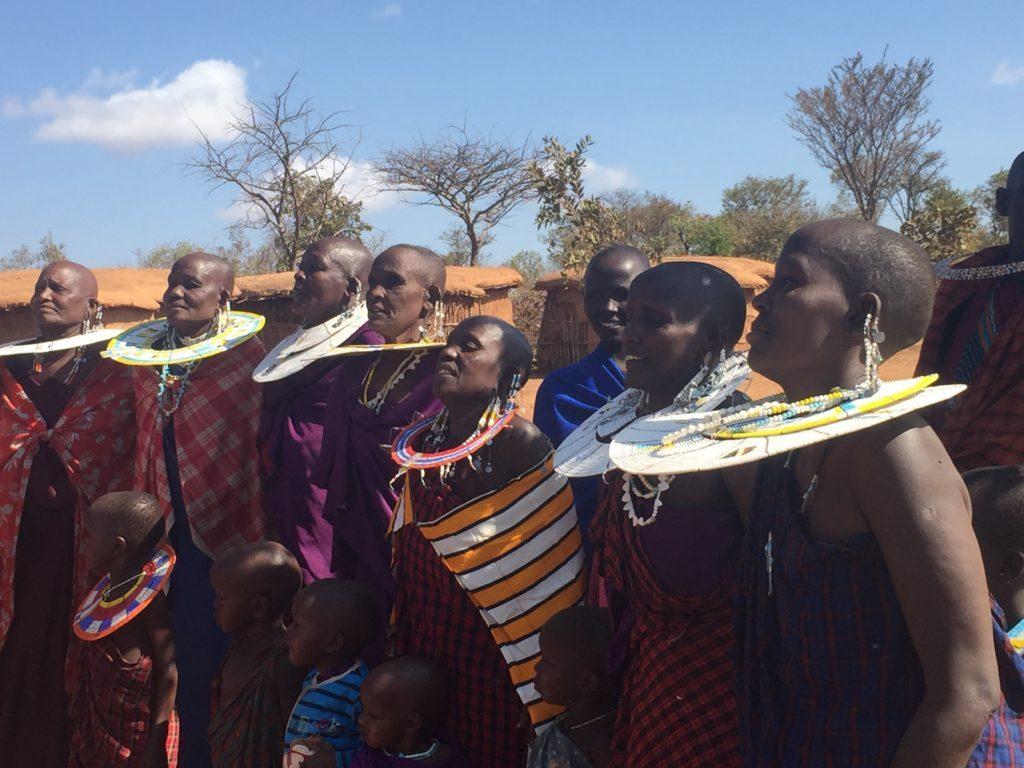 Maasai wives