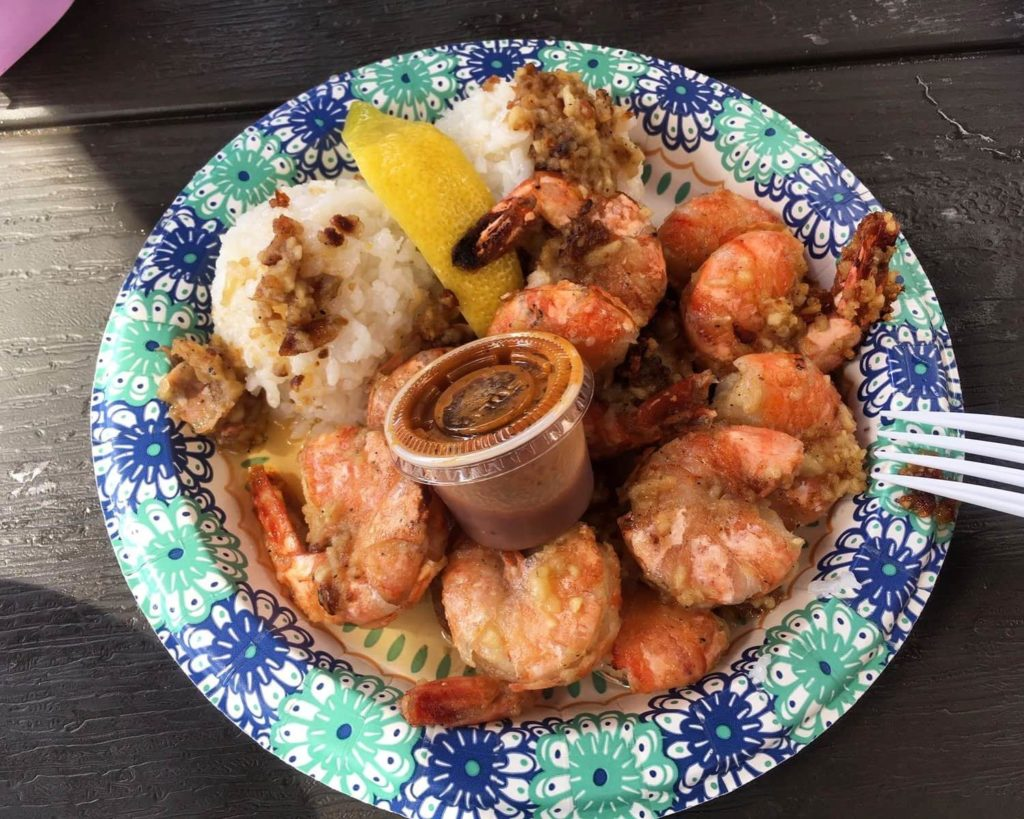 Giovanni's shrimp North Shore Oahu Hawaii