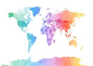 world map vamos bitchachos