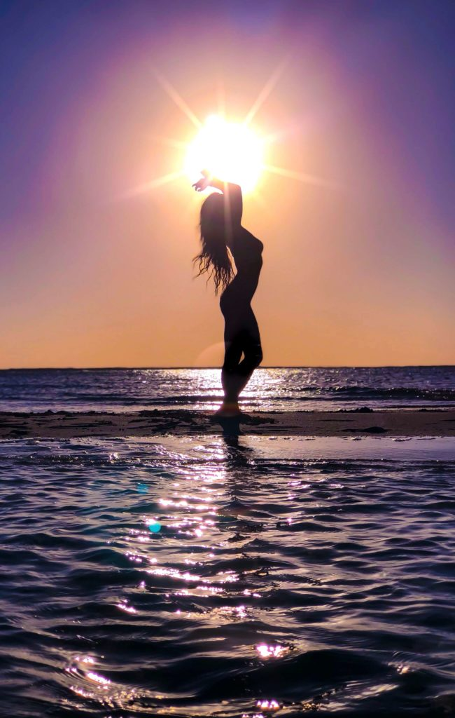 Bahamas Exuma Sunset sandbar