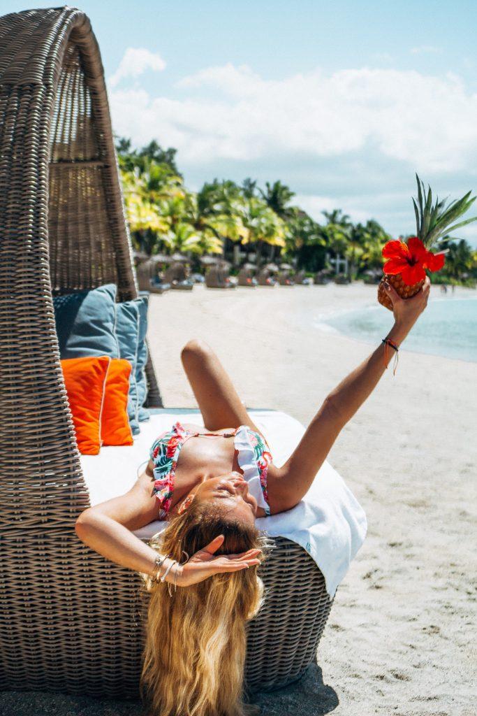 Mauritius Shangri-La private beach